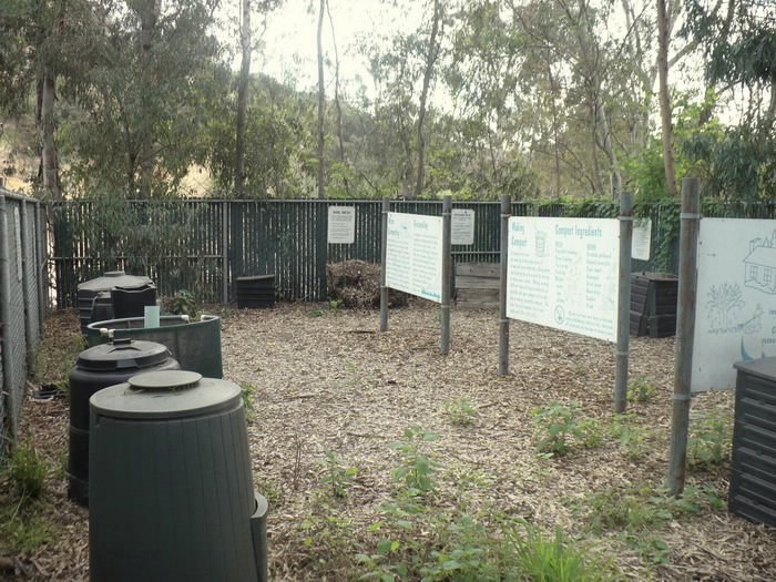 Composting school area