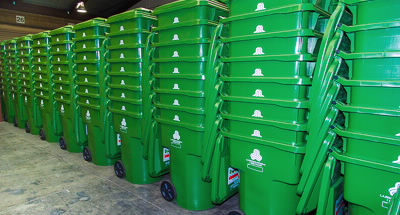 green bins Image