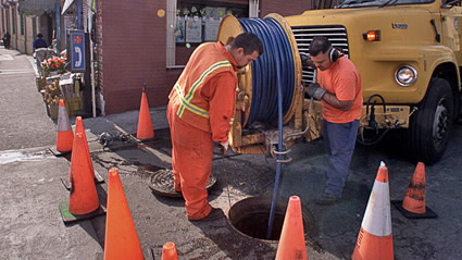 How We build an maintain the sewer system