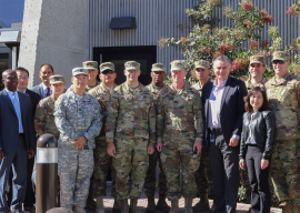 US ARMY OF CORPS OF ENGINEERS VISIT HYPERION WATER RECLAMATION PLANT