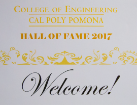 Cal Poly Pomona College of Engineers Hall of Fame 2017