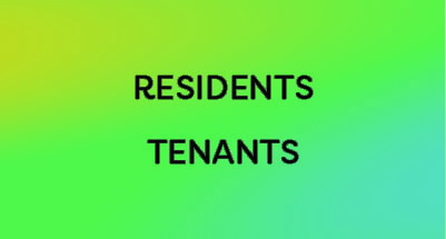 Residents or Tenants