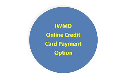 IWMD Online Credit Card Payment Option