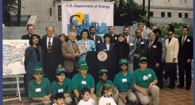 clean cities designation 1996