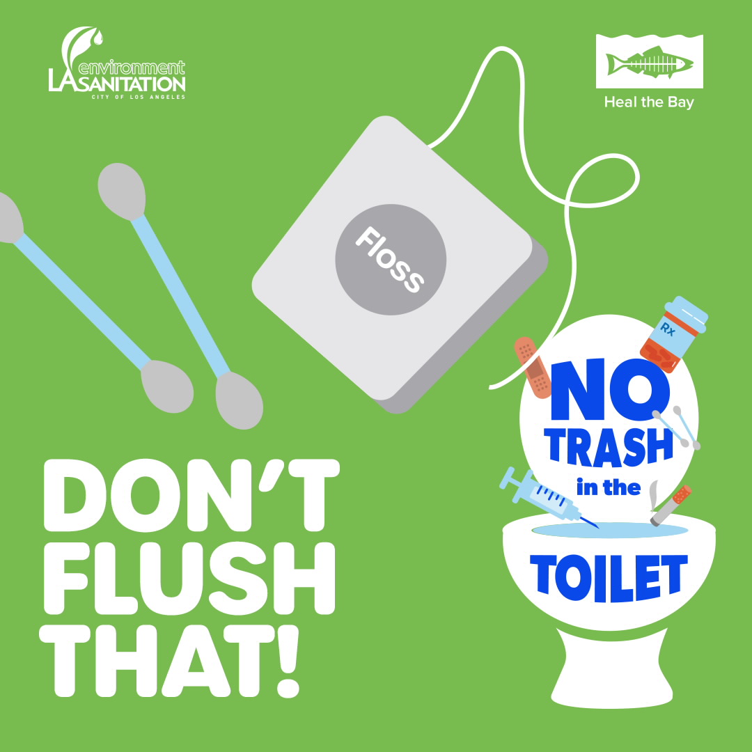Don't Flush That - Floss