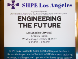 """Engineering the Future"" was the theme of the panel discussion."