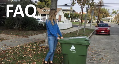 green bin on curb FAQ
