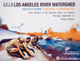 The event was co-hosted by LA Sanitation and Environment and the Council for Watershed Health.