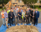 PG - LA Sanitation and Environment Hosts Groundbreaking on Ben and Victory Stormwater Infrastructure Project - Feature
