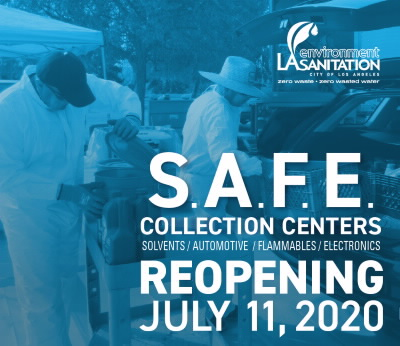 S.A.F.E. Reopening July 11, 2020