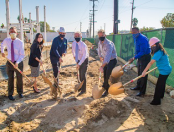 PG - LA Sanitation and Environment Holds Groundbreaking for North Hollywood Conveynace Operations Yard - Feature