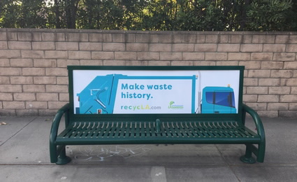 recycLA Bus Bench